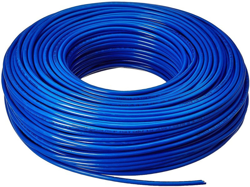 DMak Toran PVC 1.Sq/Mm Blue 90 m Wire(BLUE)