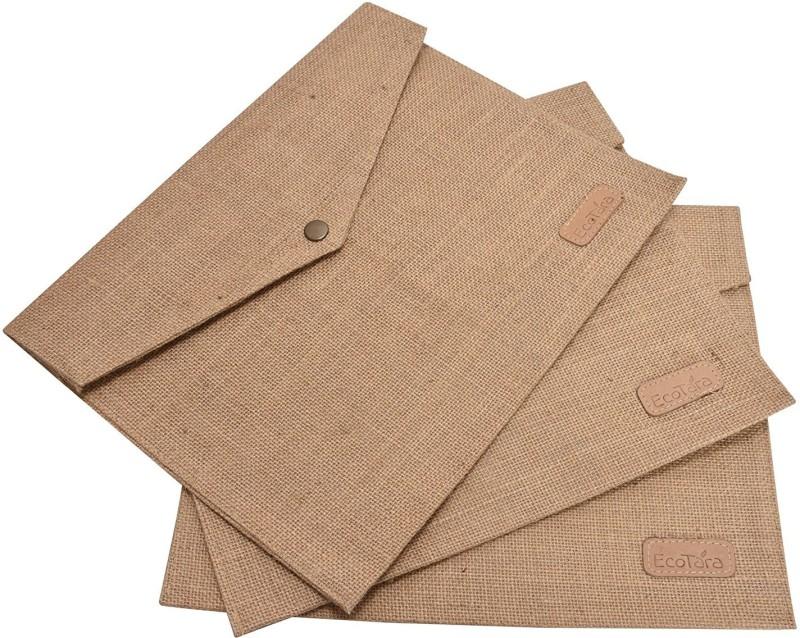 ECOTARA Envelopes(Pack of 3 Beige)