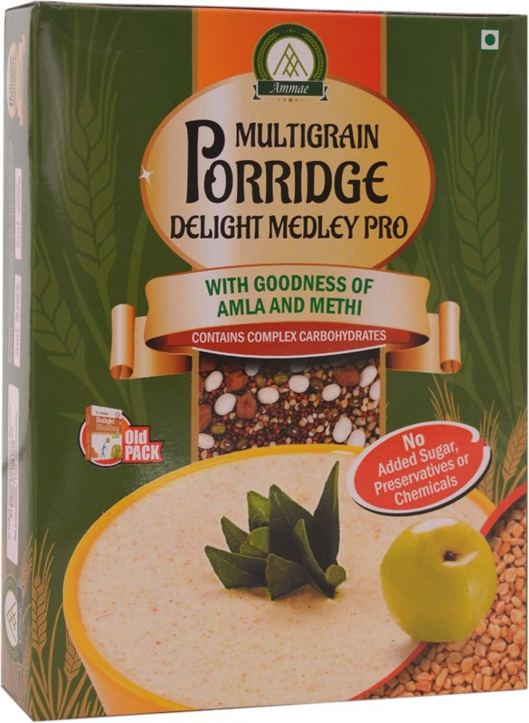 ammae Multigrain Porridge, Delight Medley PRO, 200g (pack of 2)(2 x 200 g)