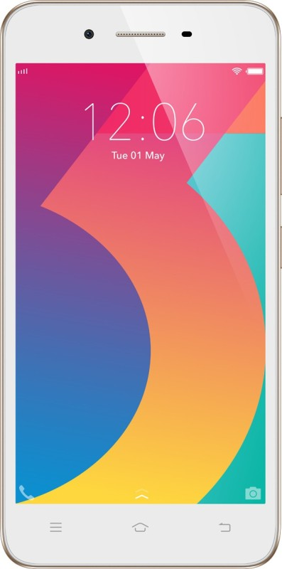 VIVO Y53i (Crown Gold, 16 GB)(2 GB RAM)