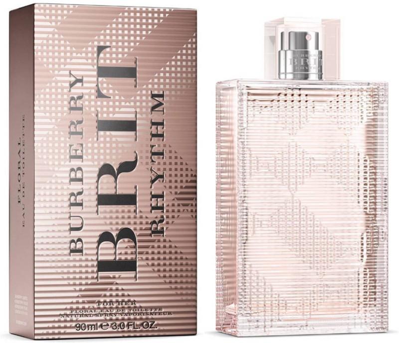 burberry Brit Rhythm for her Floral Eau de Toilette - 90 ml(For Women)