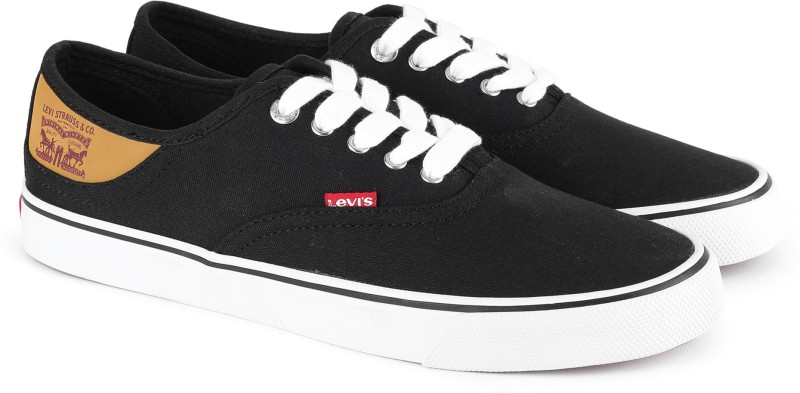 Levis Derby Classic Sneakers For Men(Black, Brown)
