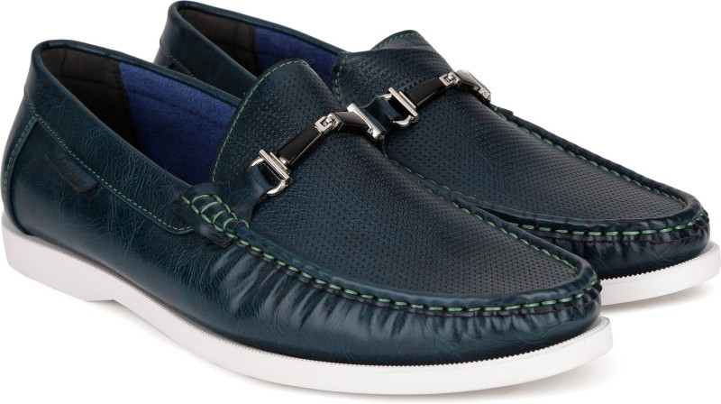 Carlton London CLM-1390 Loafers For Men(Green)