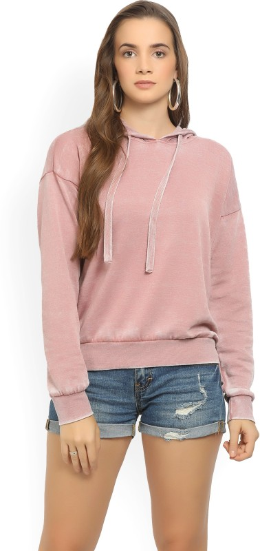 Forever 21 Full Sleeve Solid Womens Sweatshirt