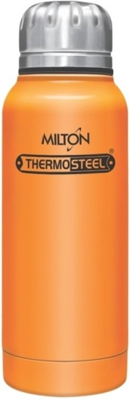 Milton Insulated Steel Bottles Thermosteel Hot & Cold Slender 160 ml, Orange 160 ml Flask(Pack of 1, Orange)