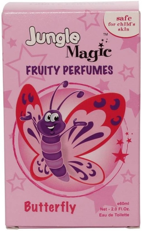 Jungle Magic Butterfly Eau de Toilette  -  60 ml(For Baby Girls)