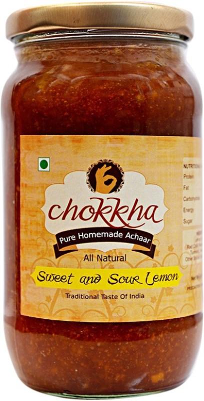 chokkha Sweet and Sour Lemon Pickle(400 g)