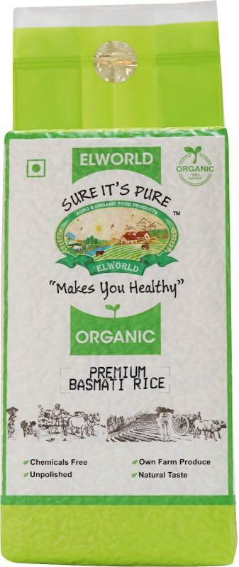ELWORLD Organic Basmati Rice (Long Grain)(1)