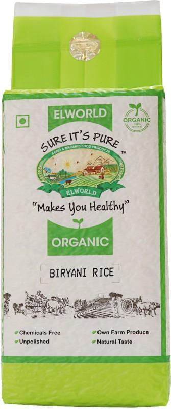 ELWORLD Organic Biryani Basmati Rice (Long Grain, Parboiled)(1)