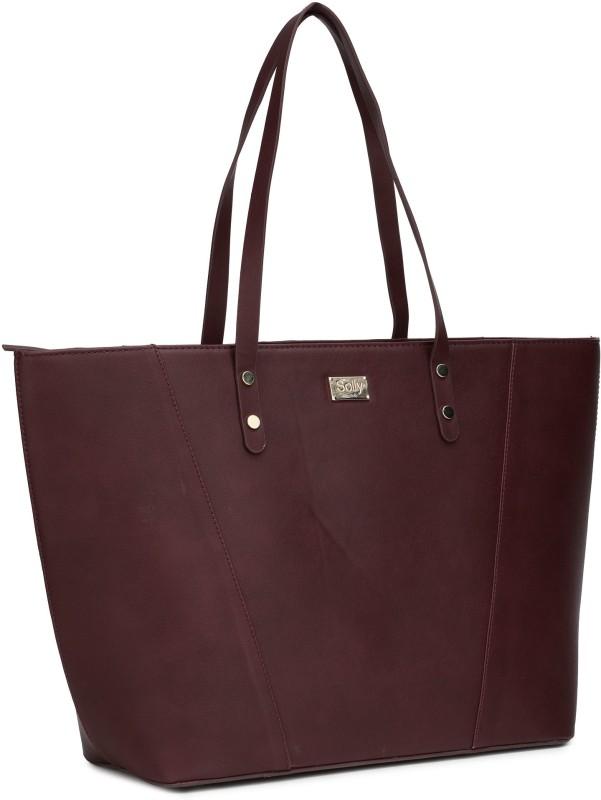 Allen Solly Women Maroon Hand-held Bag