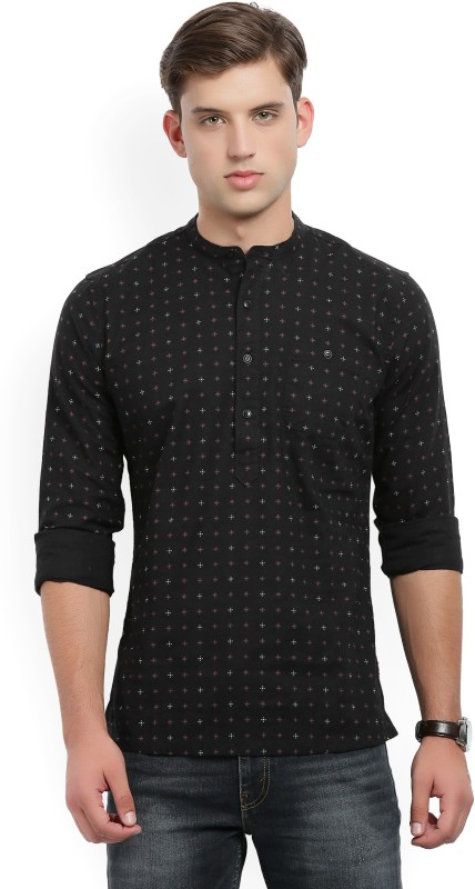 Levis Mens Printed Casual Shirt