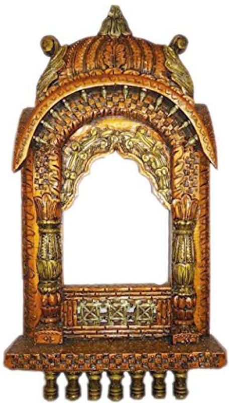 VAS Collection Home Wood Jharokha(56 cm x 31 cm Handcrafted)