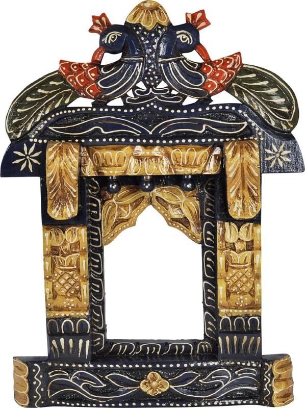 Lal Haveli Decorative Photo Frame Wood Jharokha(43.18 cm x 30.48 cm Handcrafted)