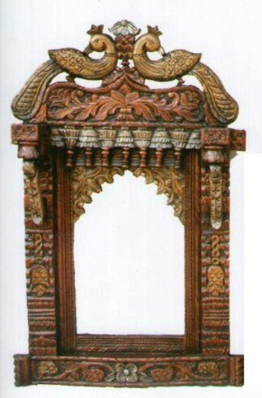 VAS Collection Home Wood Jharokha(92 cm x 61 cm Handcrafted)