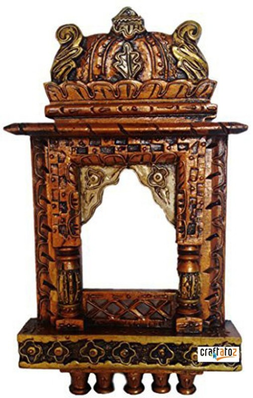 Craftatoz Wood Jharokha(40 cm x 22 cm Handcrafted)