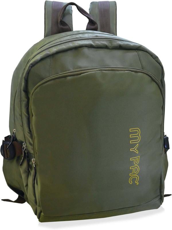 My Pac Db Trendy 15 inch Laptop bag/ backpack for men Khaki C11590-12 10 L Laptop Backpack(Khaki)