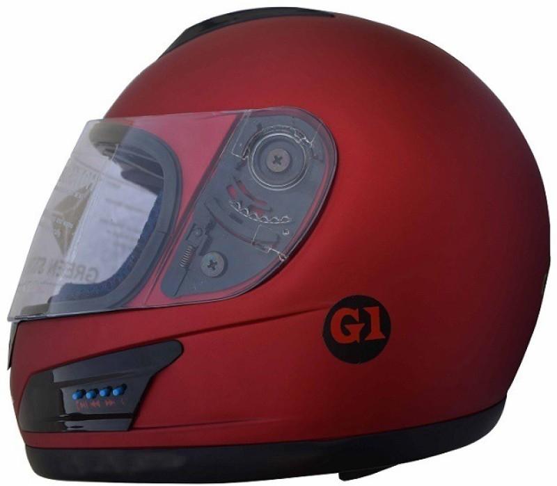 Greenstone G1 SERIES Motorbike Helmet(CHERRY RED)