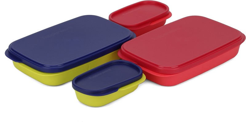 Tupperware My Lunch (Set Of 2) 2 Containers Lunch Box(590 ml)