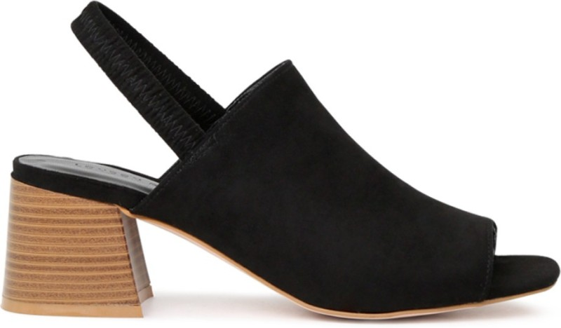 London Rag Women Black Heels