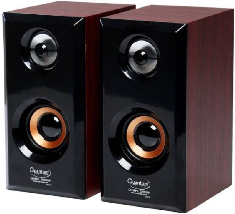 quantum qhm 630 10 Laptop/Desktop Speaker(wooden, 2.1 Channel)