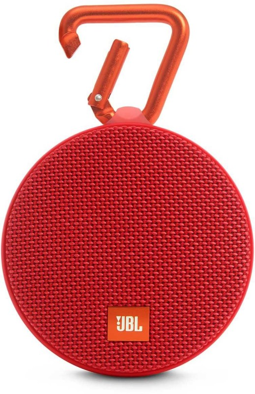 JBL Clip 2 3 W Portable Bluetooth Speaker(Red, Stereo Channel)