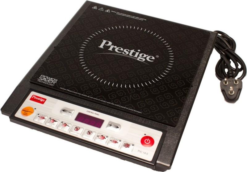 Prestige PIC 14.0 1900 W (Black) Induction Cooktop(Black, Push Button)