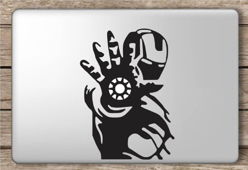 marvellous m_ironmenlaptopsticker vinyl Laptop Decal 15.6