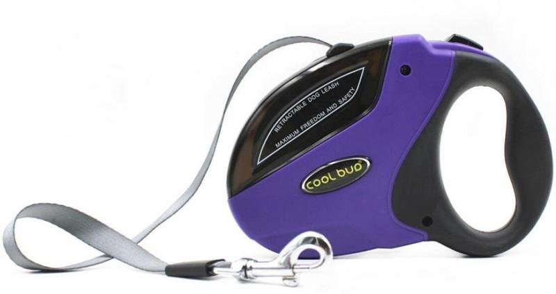 Sri High Quality Cool Buo Retractable Adjustable Leash For Dogs 500 cm Dog & Cat Strap Leash(Blue, Black)