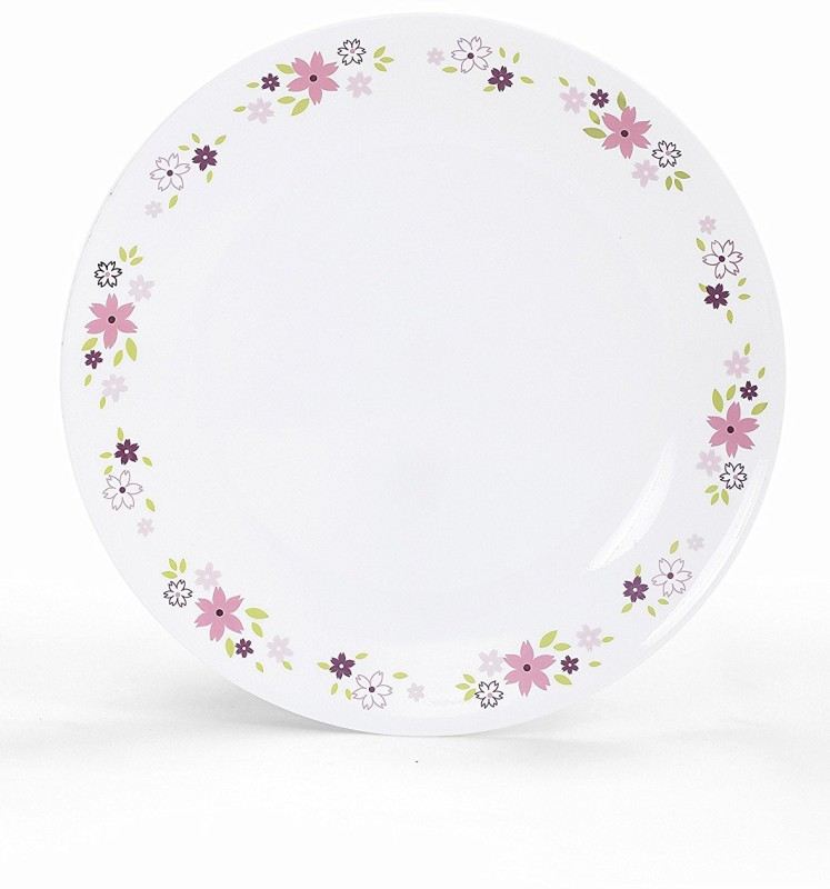 corelle 7 Pcs Gift Set Floral Fantacy Dinner Set(Glass)