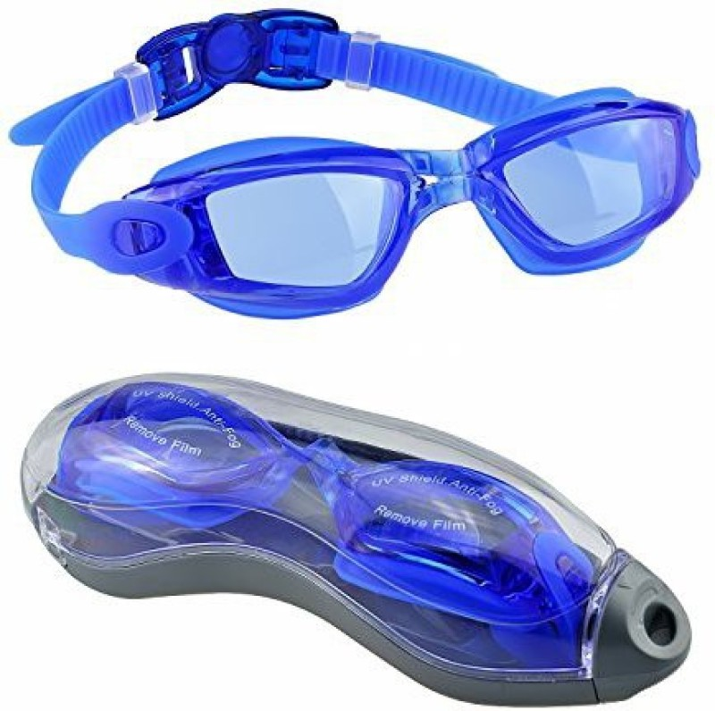 BAANI INTERNATIONAL BEST QUALITY I.M.P SWIMMING GOGGLE PACK OF 1 ( BLUE) Swimming Goggles(Blue)