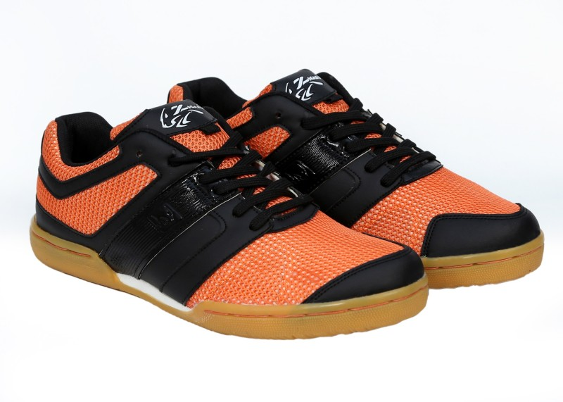 Zigaro Z503 BLACK ORANGE Badminton Shoes For Men(Black)