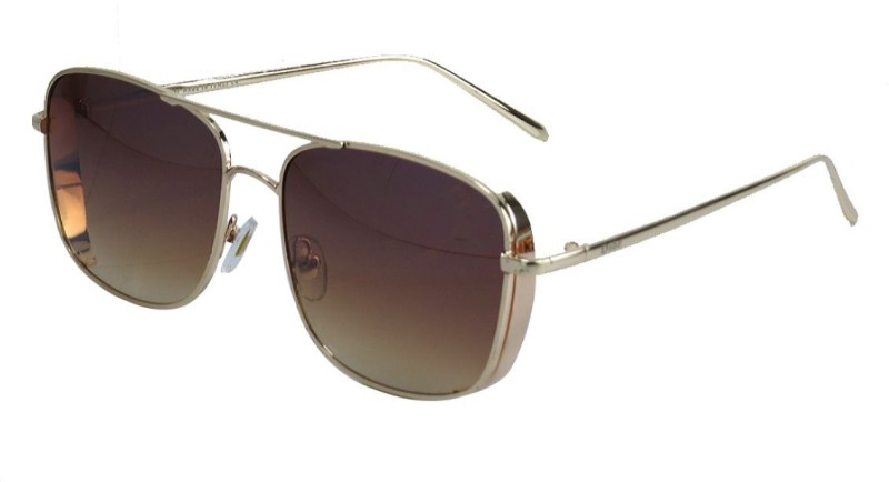 Snooky Aviator Sunglasses(Brown) image