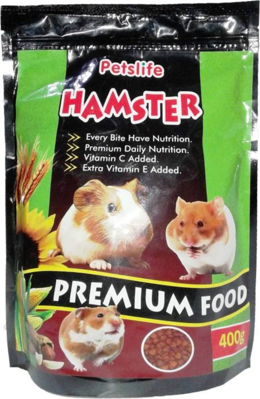 Foodie Puppies Petslife Hamster Premium Food Nuts 400 g Dry Hamster Food