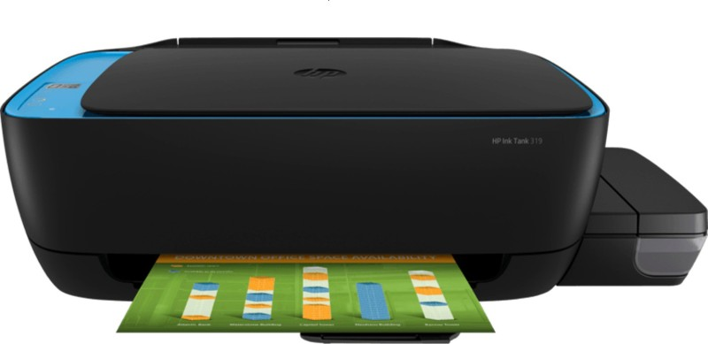 HP PINKTANK319MULTIFUNCTION Multi-function Printer(BLACK&BLUE)