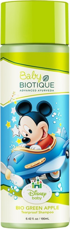 Biotique Bio Green Apple Mickey Tearproof Shampoo(190 ml)