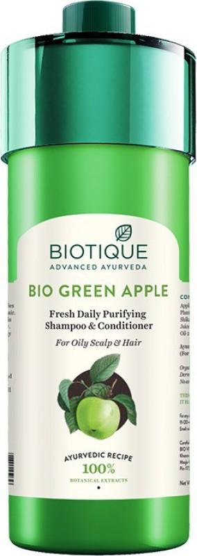 Biotique Bio Green Apple Shampoo and Conditioner(800 ml)