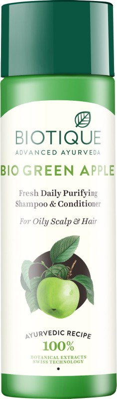 Biotique Bio Green Apple Shampoo & Conditioner(120 ml)