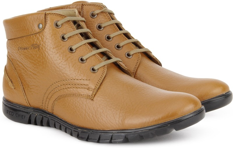 Red Chief RC3508 Boots For Men(Tan)