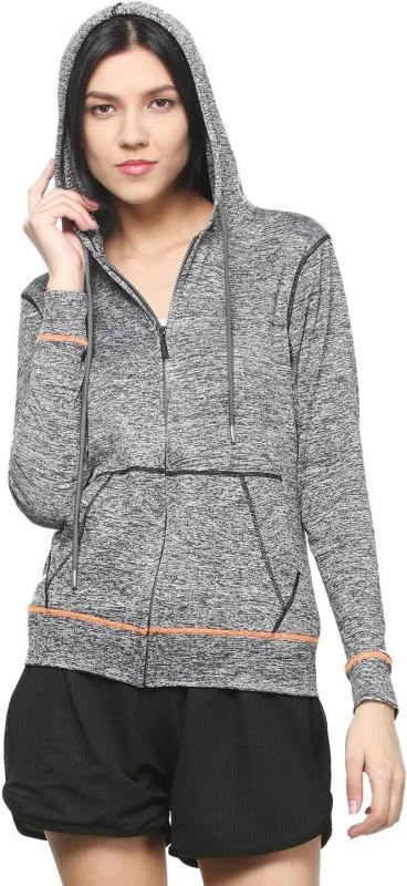 People Full Sleeve Self Design Women Sweatshirt