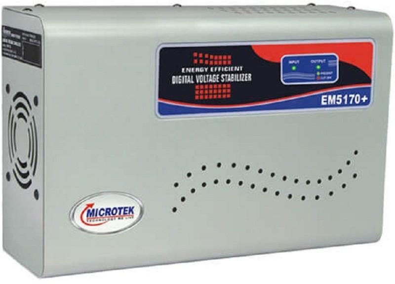 Microtek EM5170+ Voltage Stabilizer(Metallic Grey)