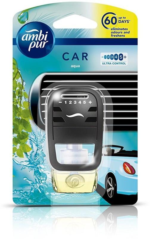 Ambipur Aqua Car Air Freshener Starter Kit (7.5 ml) Car Freshener(7.5 ml)