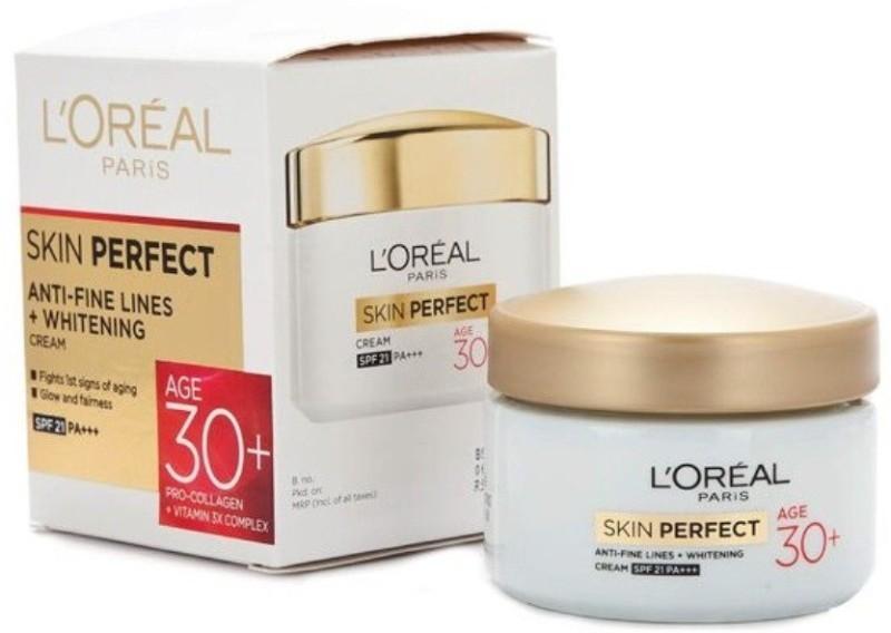 LOreal Skin Perfect Anti-Fine Lines+Whitening Cream Age 30+ Day Cream(50 g)
