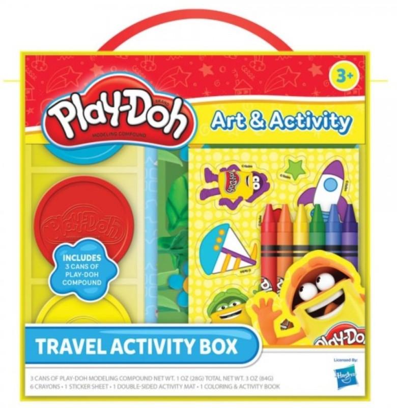 Play-Doh Travel Activity Box