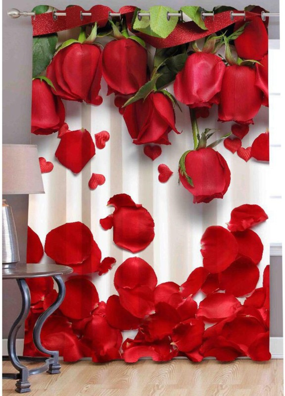 check MRP of velvet curtains red Dehati Store