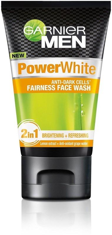 Garnier Men Power White Anti-Dark Cells Face Wash(100 g)