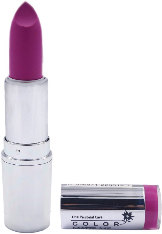 One Personal Care Pro Color | Matte Me Lipstick 133(Mardi Gras, 3.8 g)