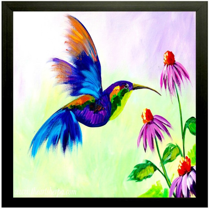 Pintura Nature Ink 12 inch x 12 inch Painting