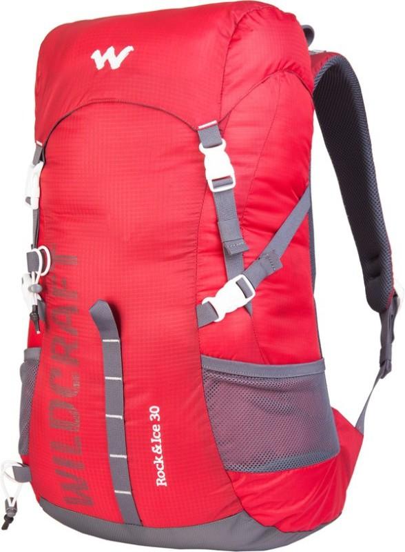 Wildcraft Rock & Ice 30 Rucksack - 30 L(Red)