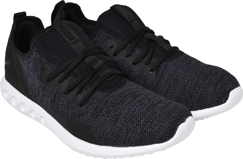 Puma Carson 2 X Knit IDP Walking Shoes For Men(Black)
