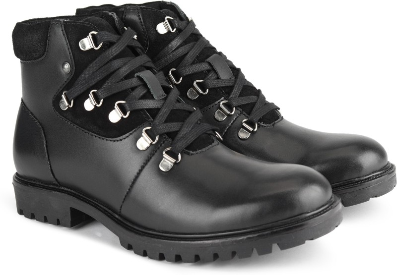 Numero Uno TMSEBD5 Boots For Men(Black)